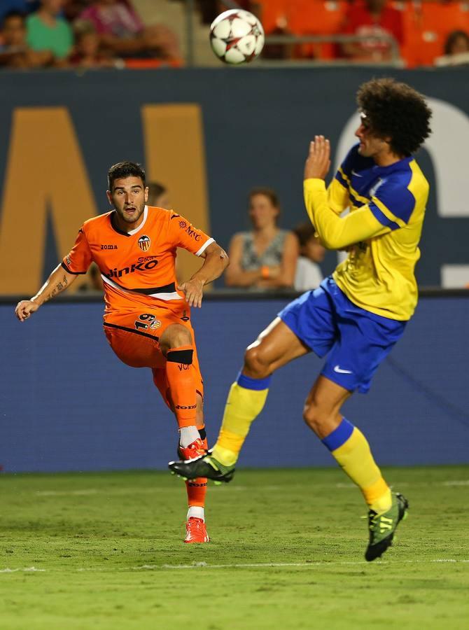 El Valencia CF gana al Everton en Miami (1-0)