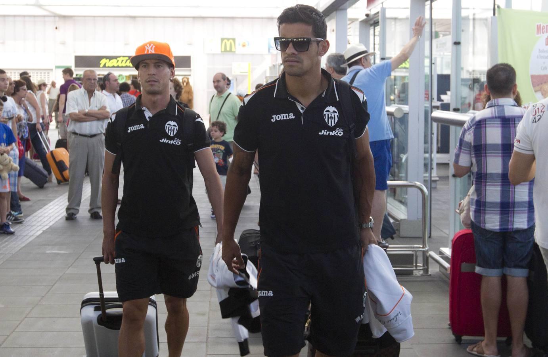 El Valencia CF vuelve de su gira americana