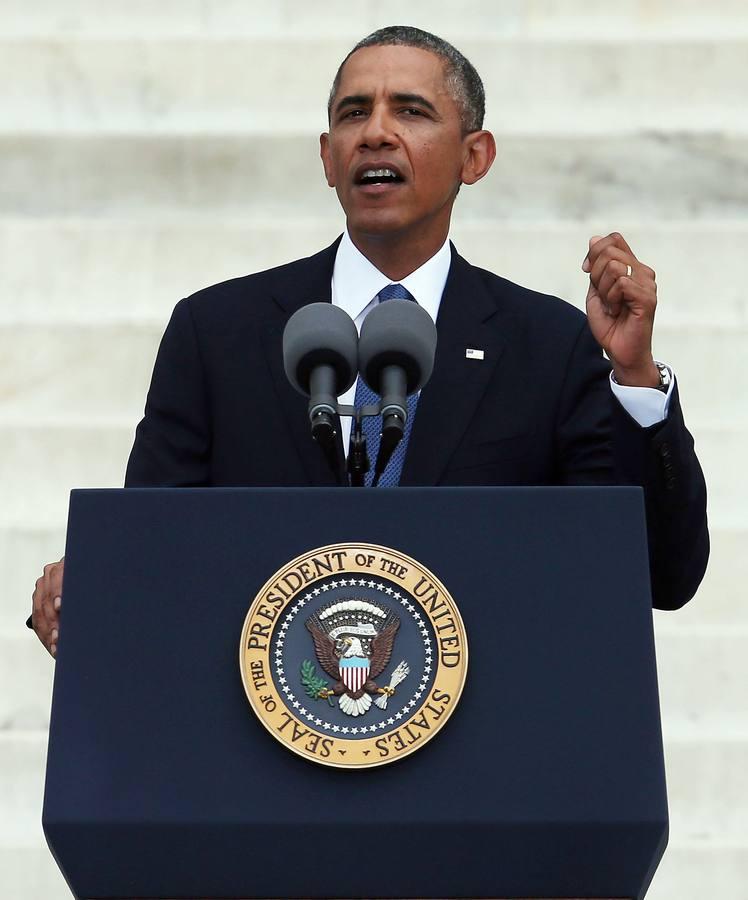 Obama rinde homenaje a Martin Luther King