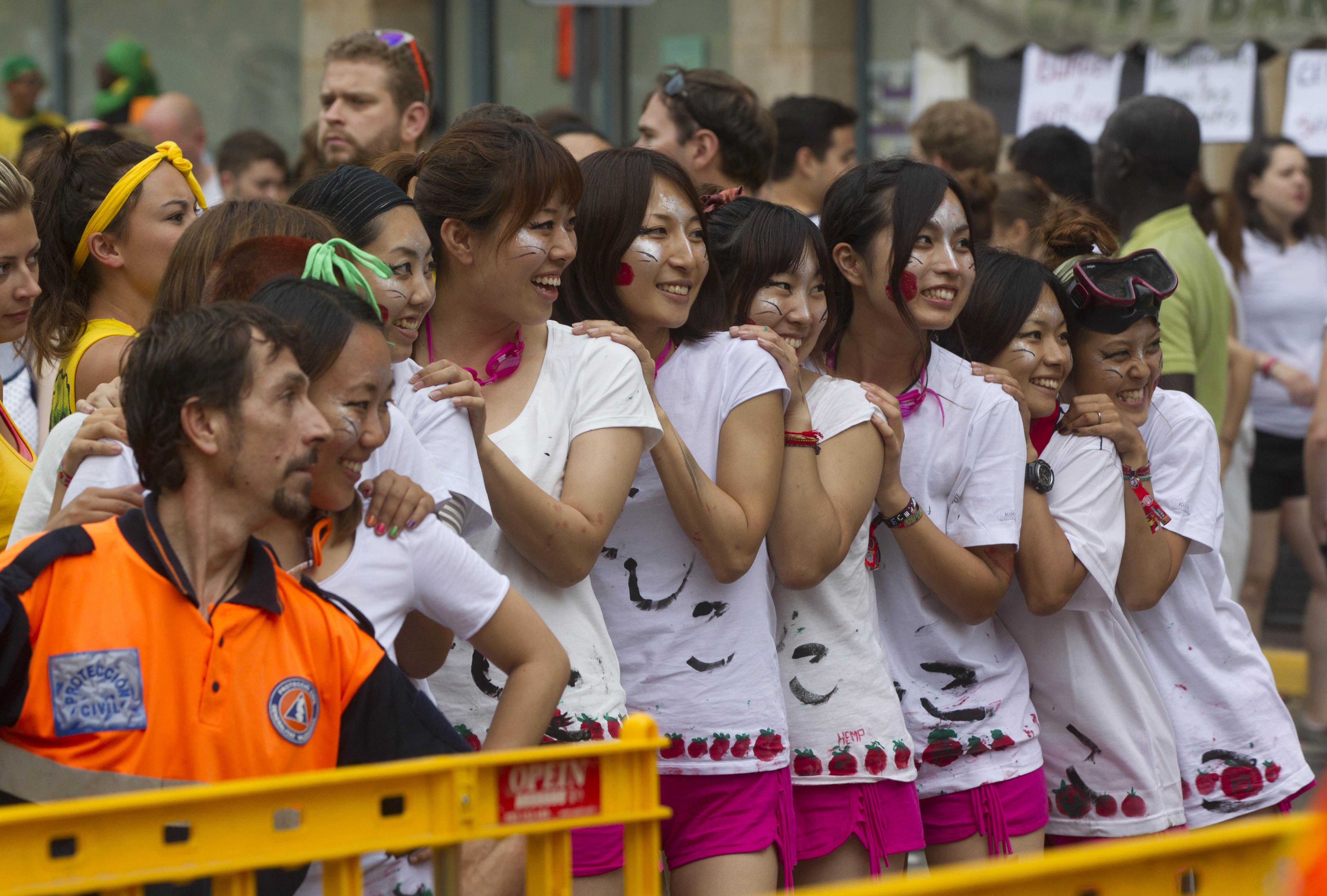 Tomatina 2013: 20.000 personas en la primera edición de pago
