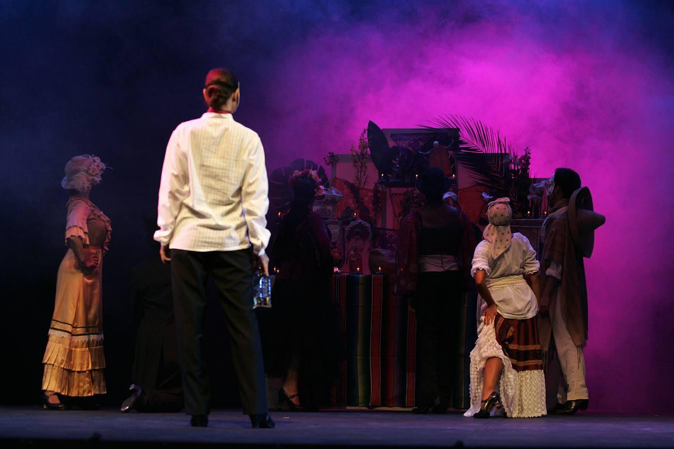 Chavela se pone flamenca