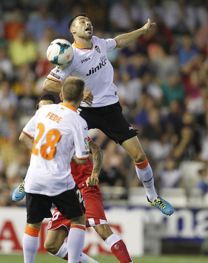 Las mejores imágenes del Valencia-Sevilla