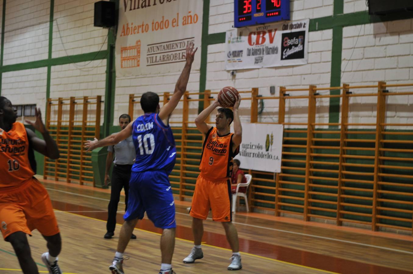 Amistoso en Villarobledo entre Valencia Basket-Estudiantes