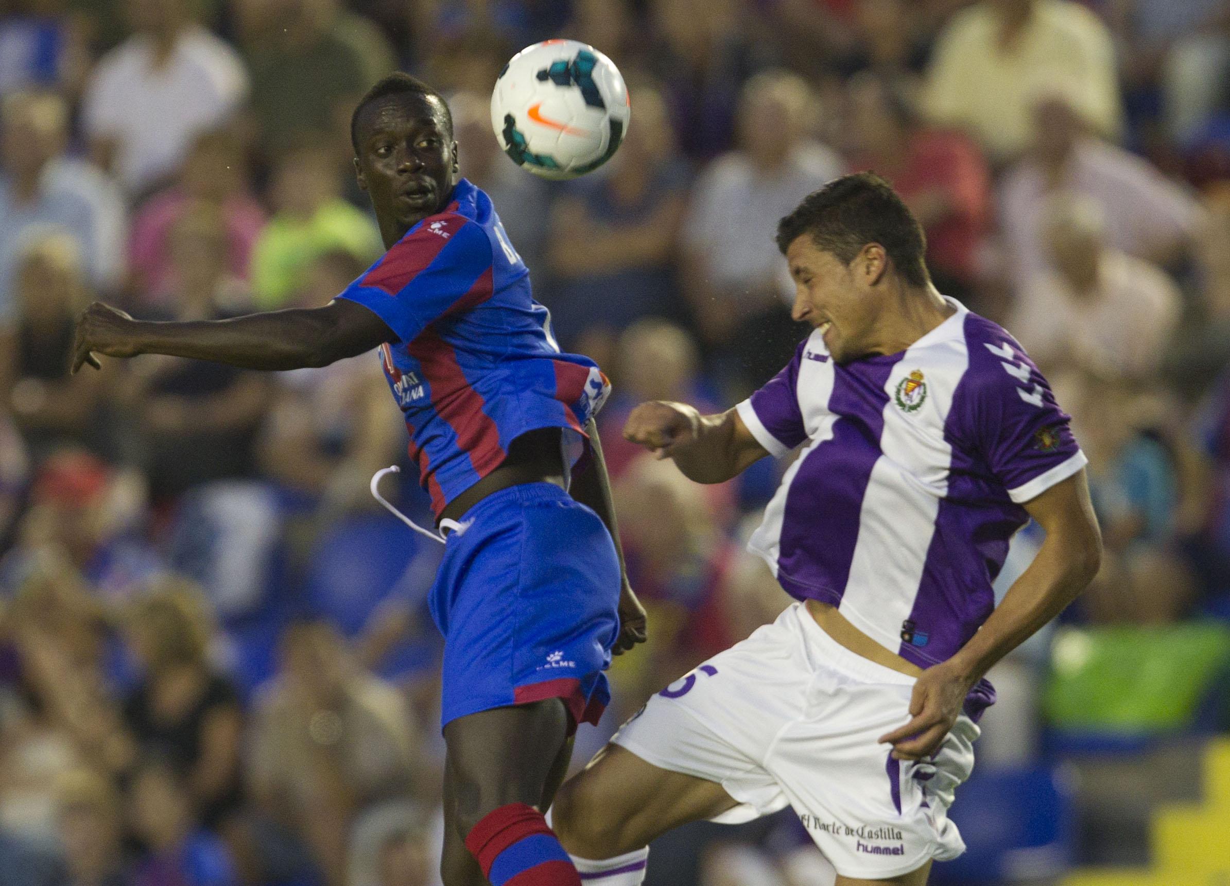 Las mejores imágenes del Levante-Valladolid