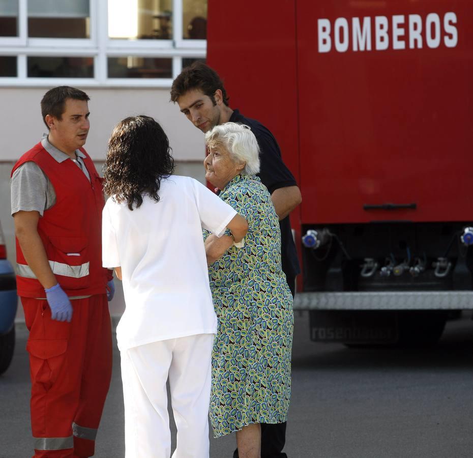 Un incendio en la residencia de ancianos Juan XXIII deja cinco heridos