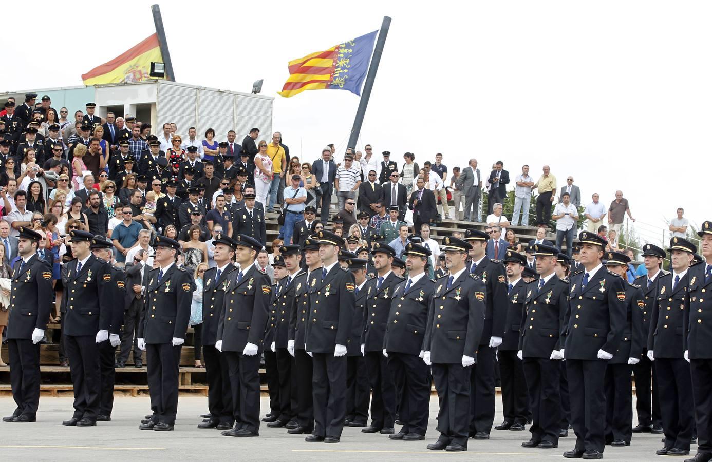 Acto de homenaje y condecoraciones en el Día del Cuerpo Nacional de Policía