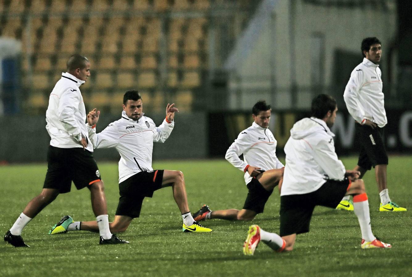 El Valencia se prepara para el duelo ante el Kuban Krasnodar