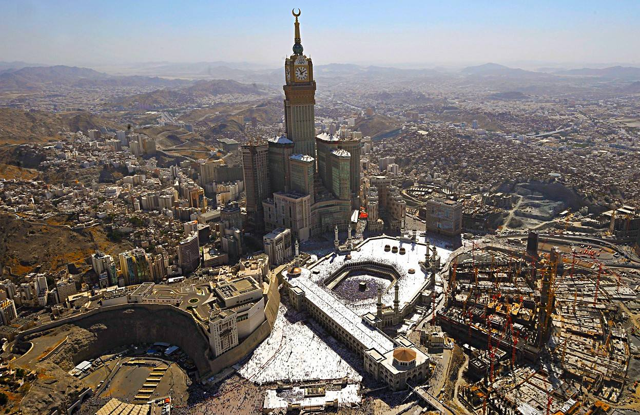 2. Abraj Al-Bait, en La Meca (Arabia Saudí)