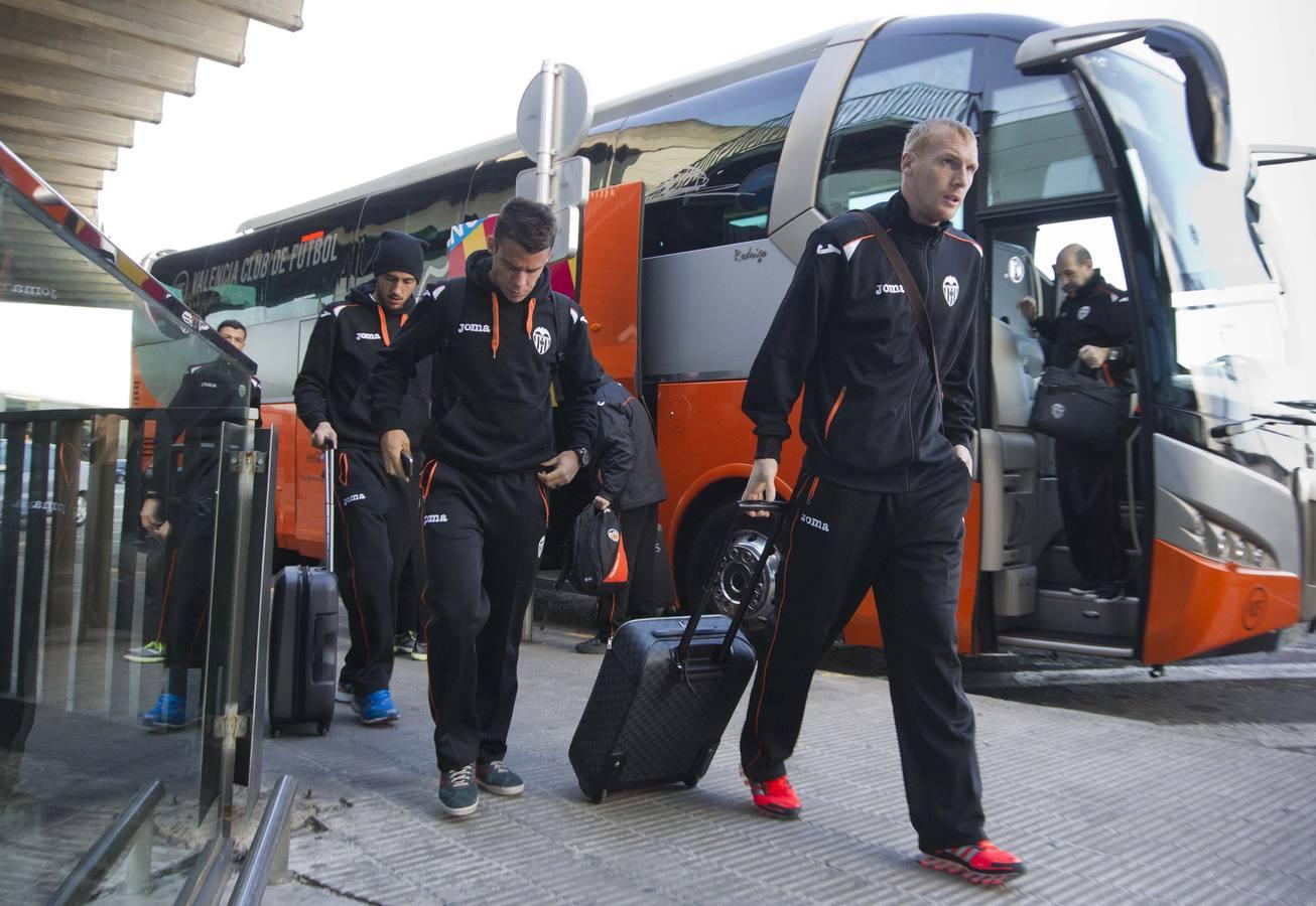 Desplazamiento del Valencia a Gales para medirse al Swansea