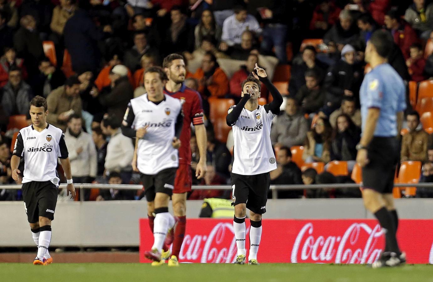 Las mejores imágenes del Valencia-Osasuna
