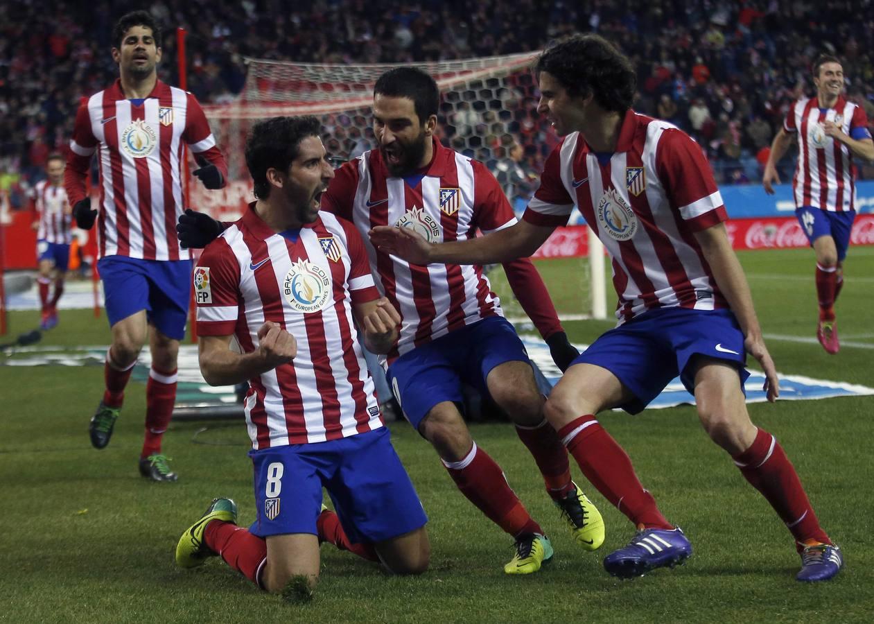 Las mejores imágenes del Atlético de Madrid-Valencia