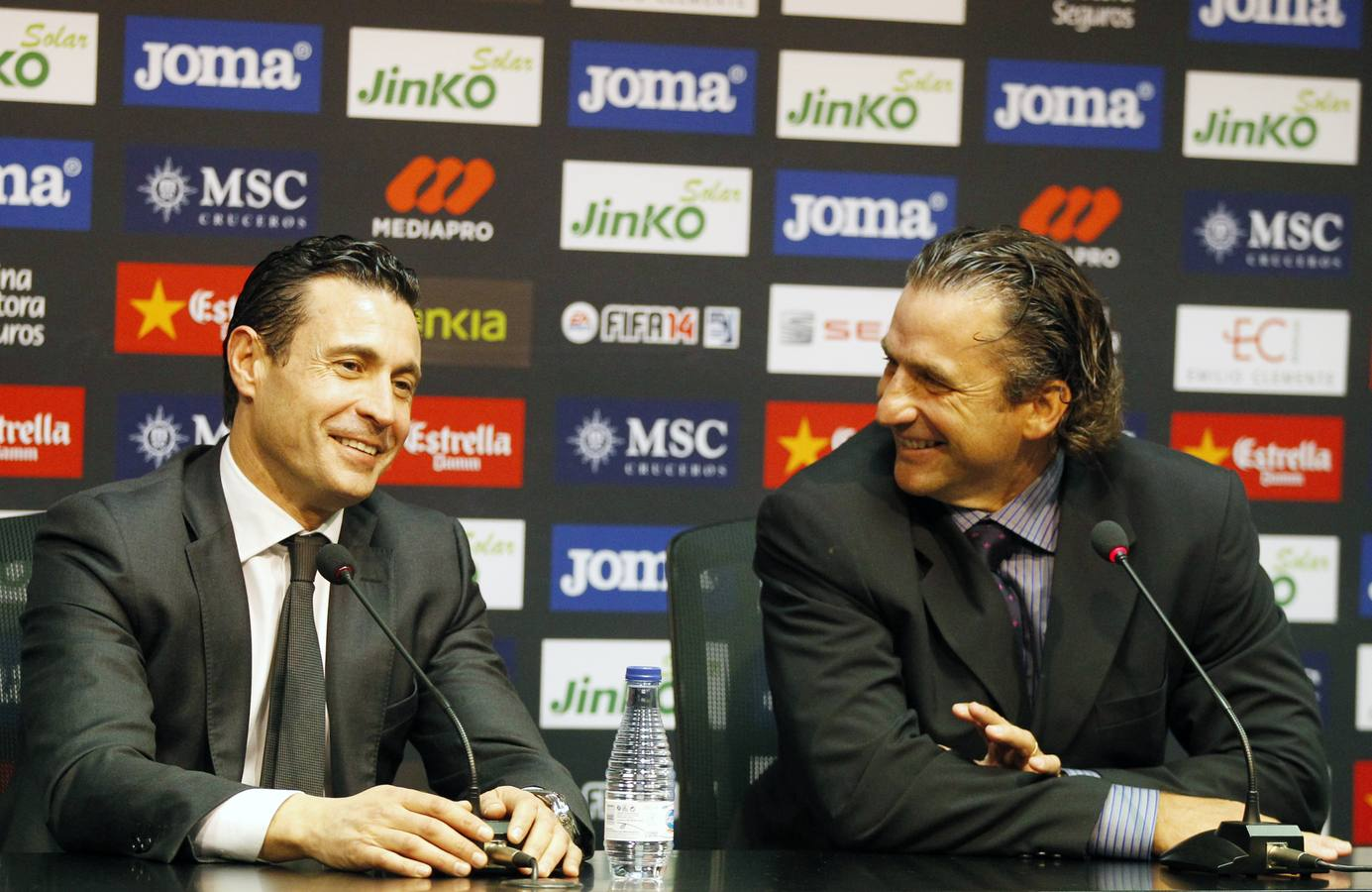 Presentación oficial de Pizzi como entrenador del Valencia