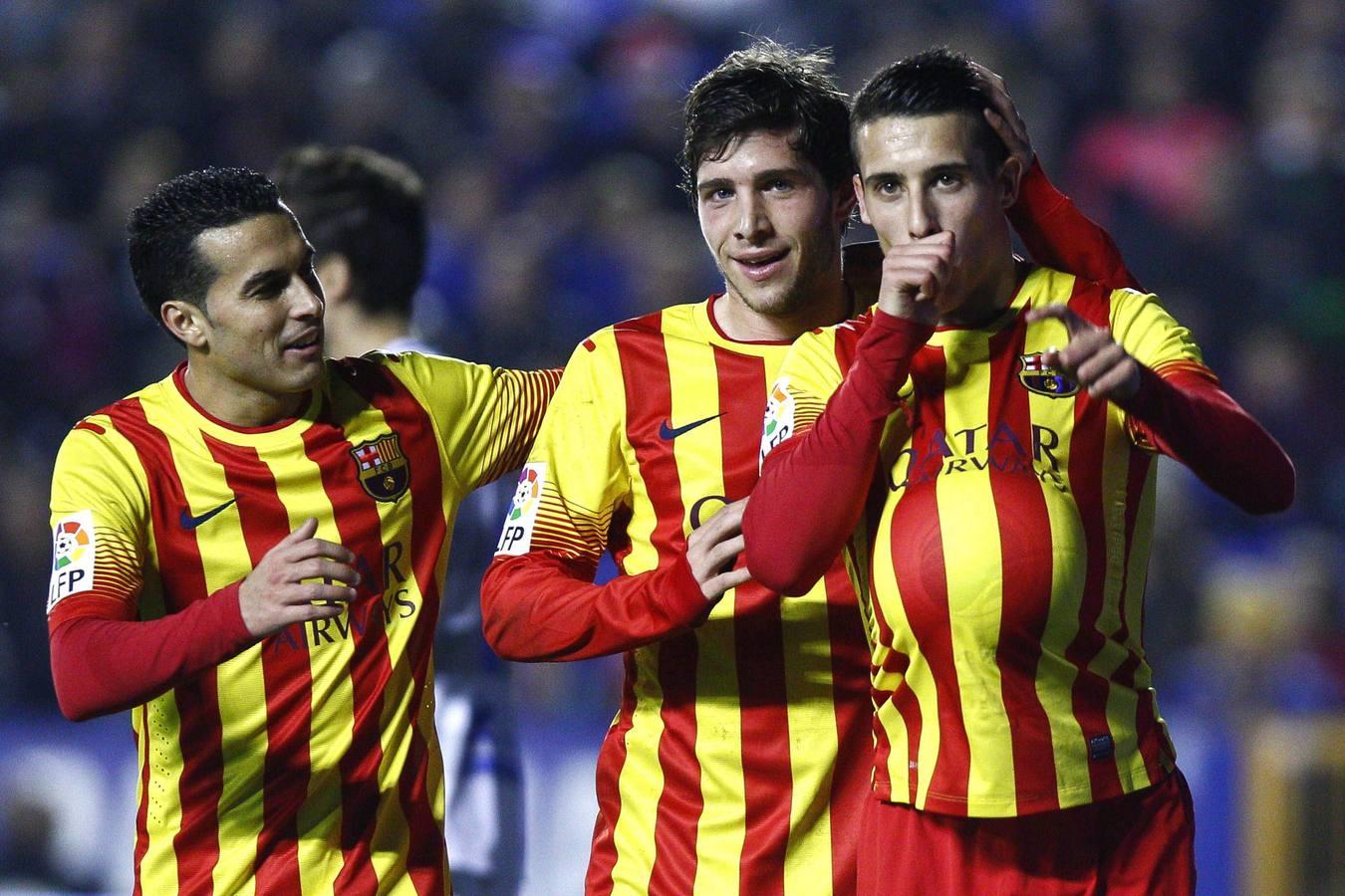 Las mejores imágenes del Levante-Barcelona de Copa del Rey