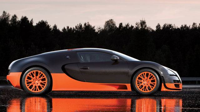 3. Bugatti Veyron Super Sport: 447 km/h