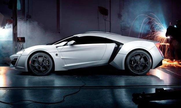 10. Lykan Hyper Sport: 394 km/h