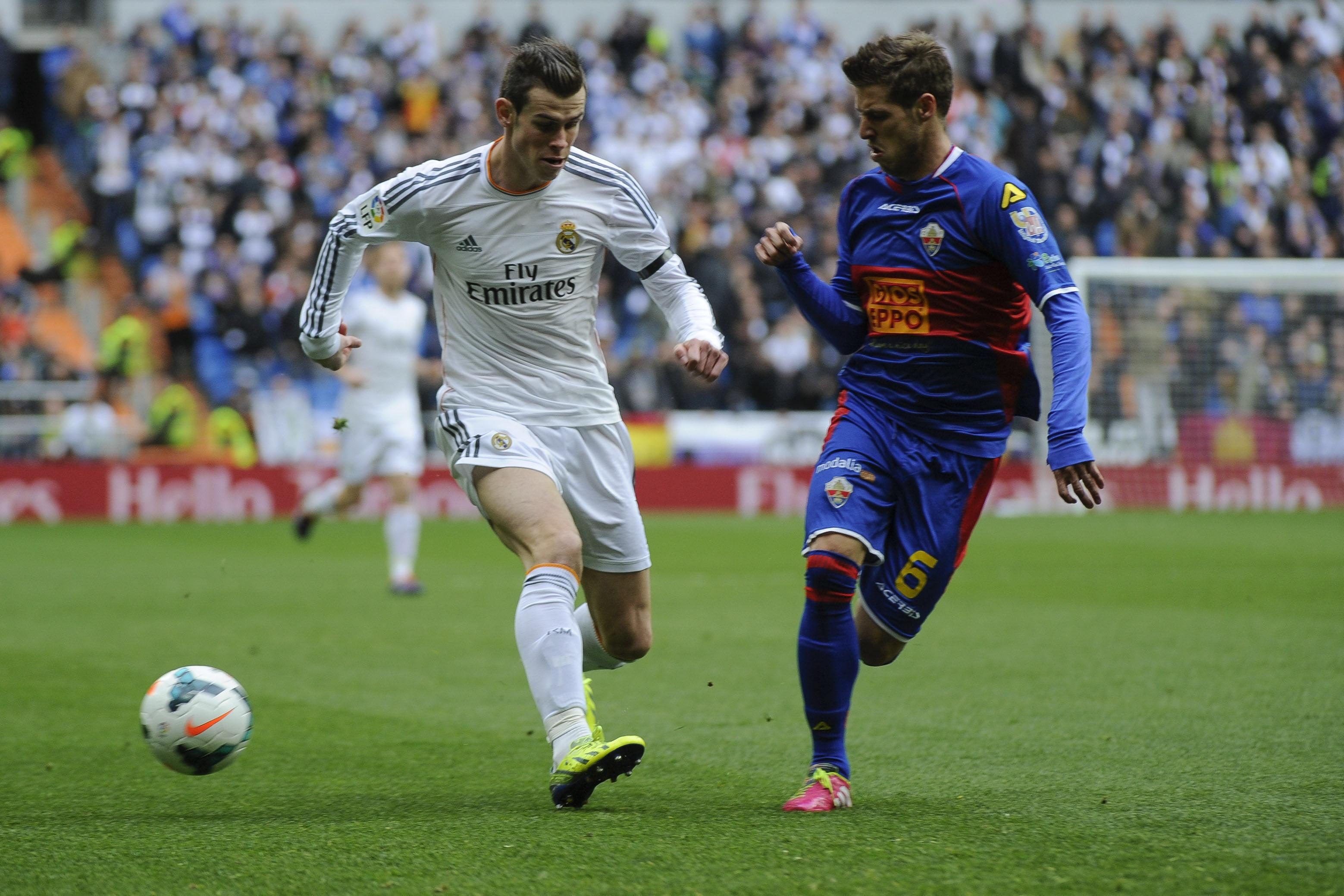 Imágenes del Real Madrid-Elche disputado en el Bernabéu