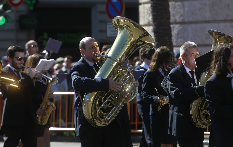 Pirotecnia Valenciana hace retumbar Valencia en la primera mascletà de las Fallas 2014