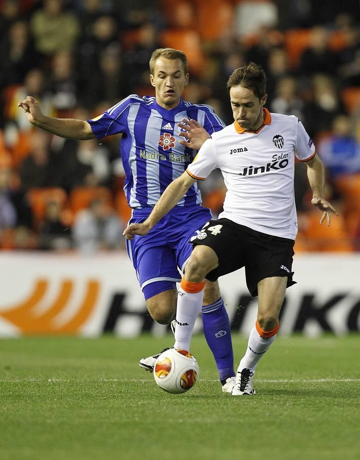 El Valencia-Dinamo de Kiev de Europa League, en imágenes