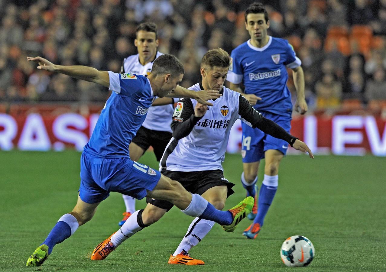 El empate del Valencia-Athletic, en imágenes