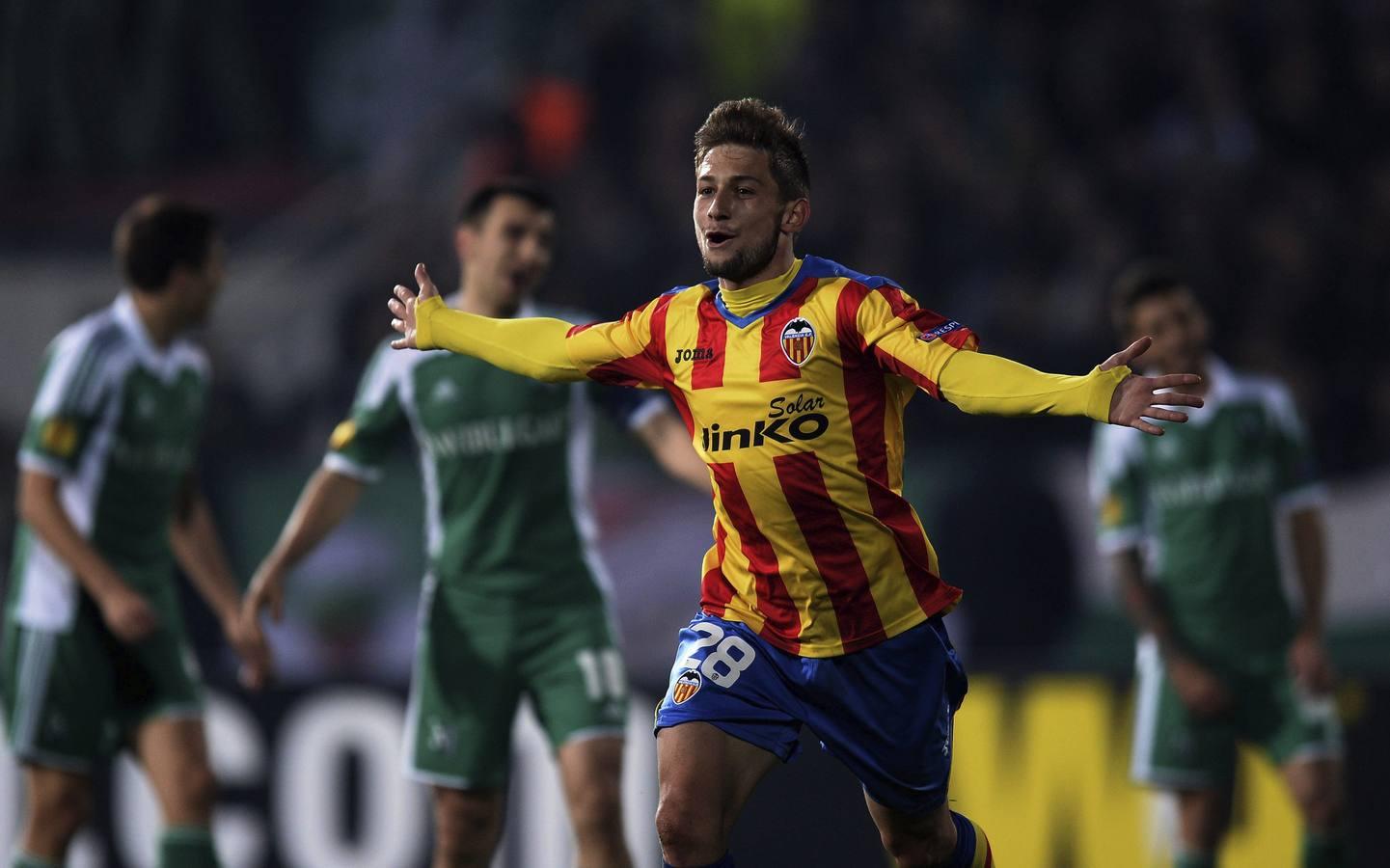 Las mejores imágenes del Ludogorets-Valencia