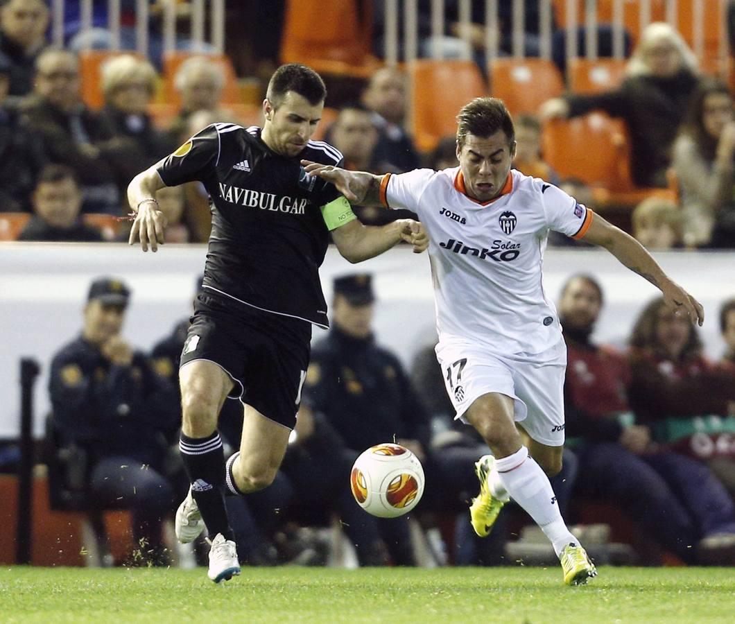 Las mejores imágenes del Valencia-Ludogorets