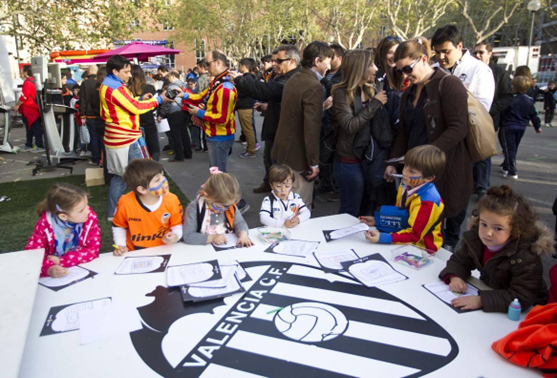 Las mejores fotos del Valencia-Villarreal
