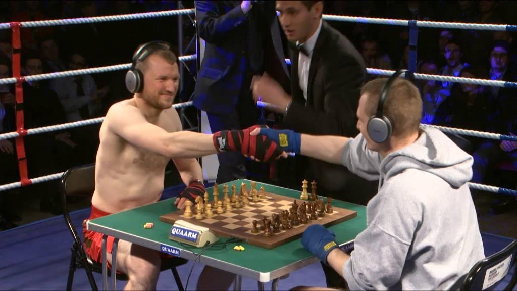 3. Chessboxing (ajedrez y boxeo)