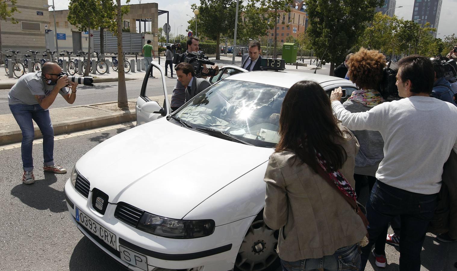 Sale en libertad el expresidente del Valencia Cf Juan Soler tras ser detenido acusado de intento de secuestro