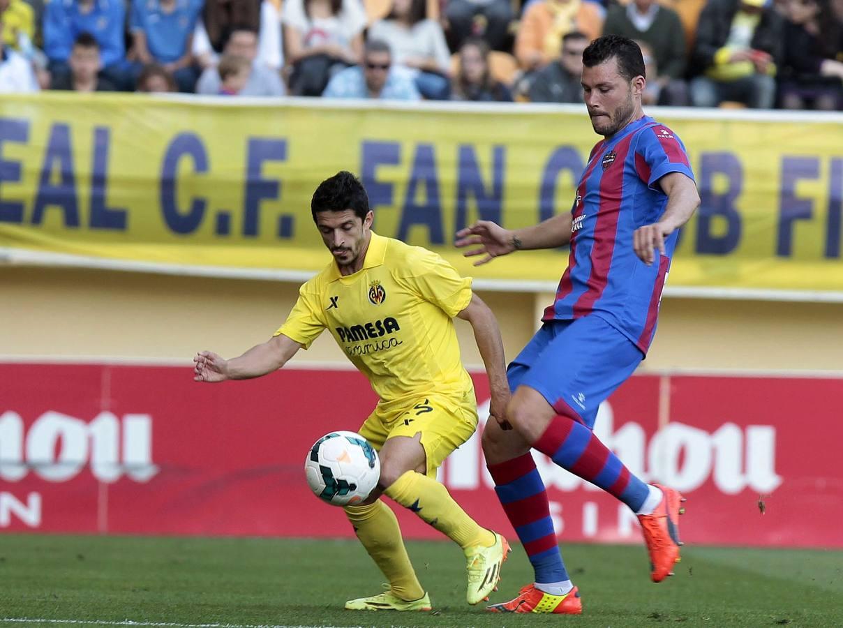 Las mejores imágenes del Villarreal-Levante