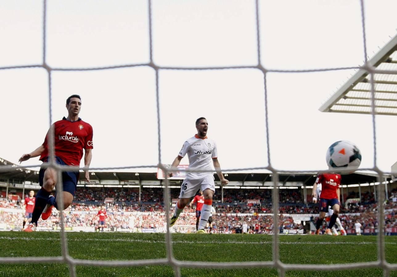 Las mejores imágenes del Osasuna-Valencia