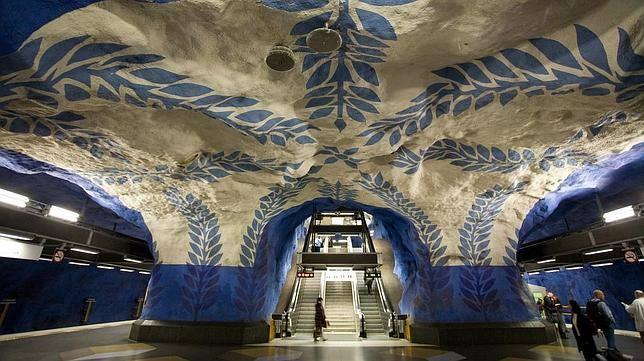 1. T-Centralen, de Estocolmo (Suecia)